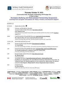 WBM Symposium