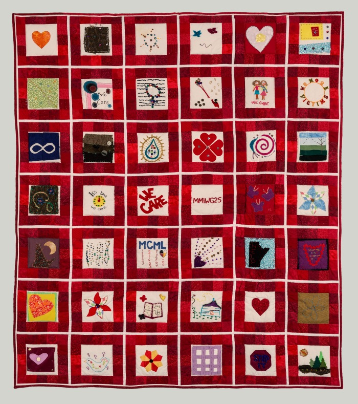 We Care Quilt- Honoring Missing and Murdered Indigenous Women